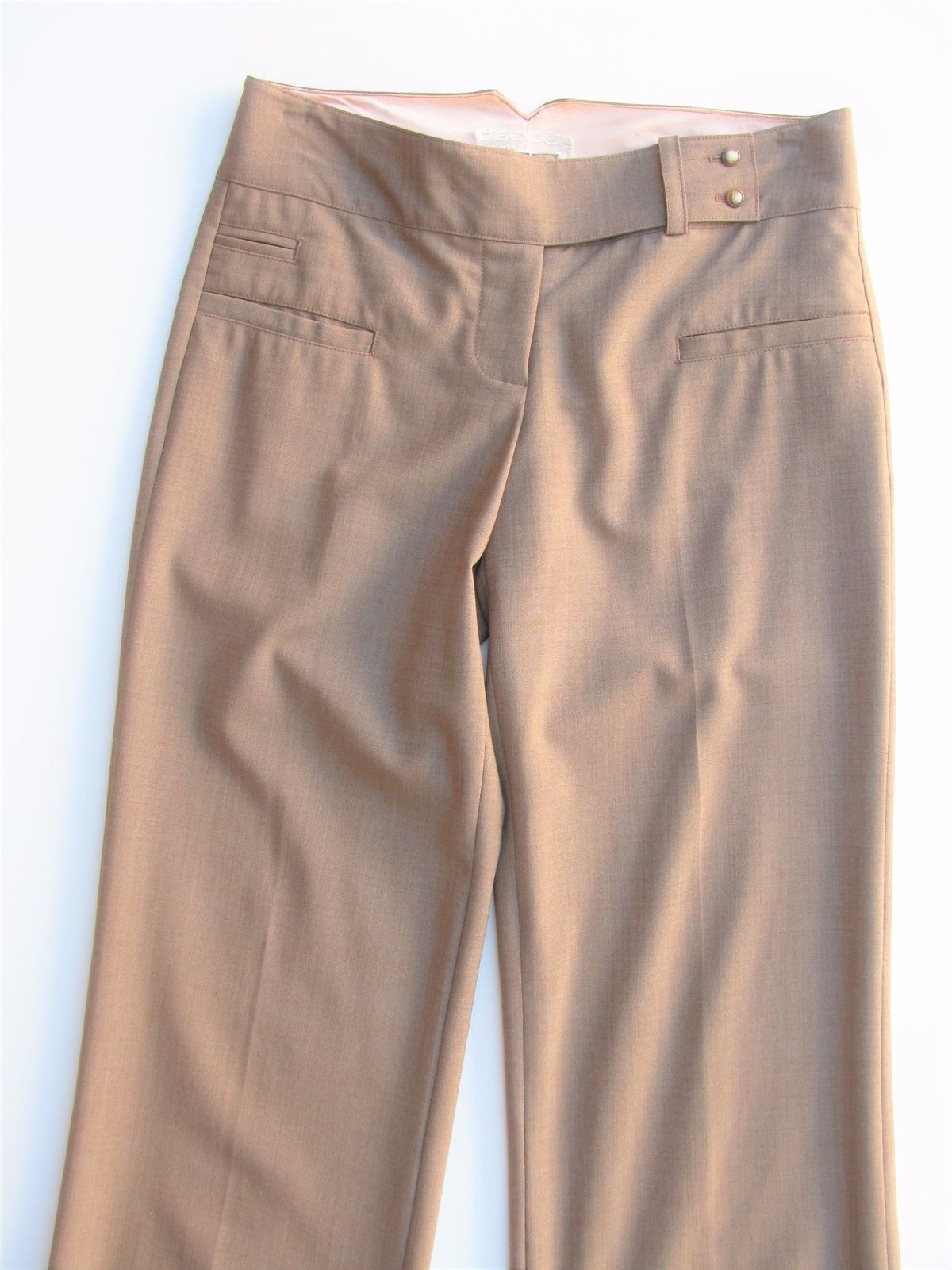 Pants Trousers Career Jak & Rae Anthropologie Stretch Wool Trousers 2 NWOT $265