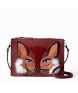 "Kate Spade ""SO FOXY"" Clarise Novelty Leather Clutch / Handbag / Shoulder... - $275.00"