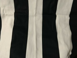 Ikea Black &  White Pillow Case Only 20 X 20 (50cm) 100% Cotton With Zip... - $9.89