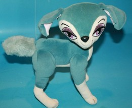 "Bratz Petz Blue Plush Dog 10"" Big Eyes Soft Toy Stuffed Bendable Legs Poseable - $19.32"