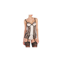 Dita Von Teese Luxurious Vintage Lace Parisienne Bustier D47452 - $59.99