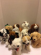 "The Twelve Dogs of Christmas Plush Complete Set 7"" Ea Vtg 1998 Rare Comm... - $46.74"