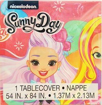 Sunny Day Plastic Table Cover 1 Count Birthday Party Supplies 54 by 84 I... - $6.44