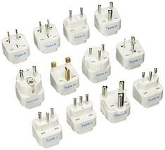 Ceptics GP-12PK International Travel Worldwide Grounded Universal Plug A... - $19.58