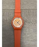 Unisex TROPICANA Orange Juice Logo Plastic Quartz Movement Watch - Working - $15.00