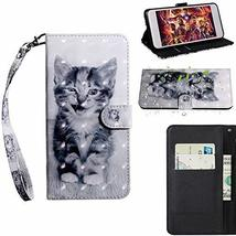 XYX Wallet Case for Samsung Galaxy Note 10,[Wrist Strap] Painted Design ... - $9.88