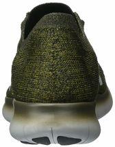 Men's Nike Free RN Flyknit Running Shoes, 831069 301 Sizes 8.5-13 Khaki/Blk/Mang image 3