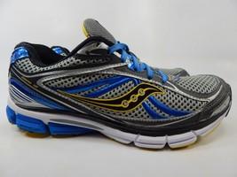 Saucony Omni 12 Size US 8.5 M (D) EU 42 Men's Running Shoes Silver Blue 20206-2