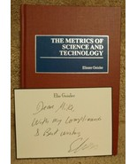 The Metrics of Science and Technology Eliezer Geisler Inscribed Card Signed - $31.14