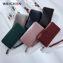Women Long Clutch Wallet Large Capacity Coin Purses Phone Cards Holder C... - $15.45 CAD