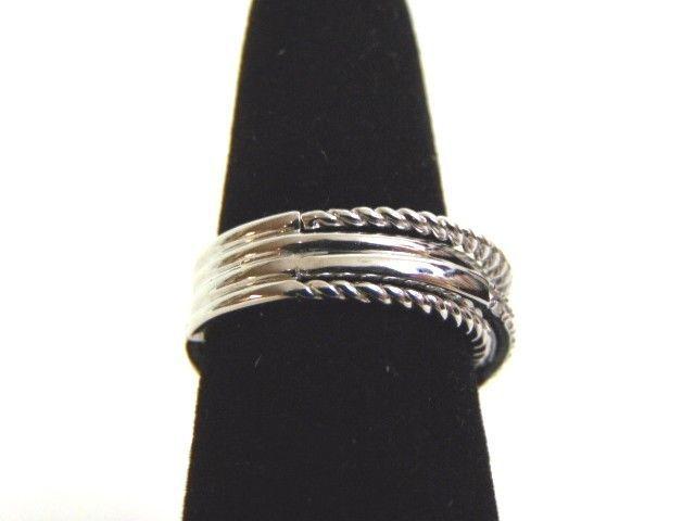 Women's 14K White Gold Diamond Ring 6.0g E3516