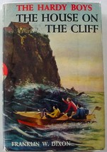 Hardy Boys The House on the Cliff 1959 Printing hcdj Franklin W. Dixon m... - $12.00