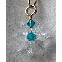 Clear Miniature Crystal Daisy Earrings image 5