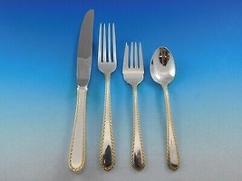 Golden Winslow by Kirk Sterling Silver 18 Flatware Service Set 80 pieces - $4,795.00