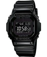 CASIO G-SHOCK GW-M5610BB-1JF GLOSSY BLACK Series Atomic Watch JAPAN GW-M... - £138.98 GBP