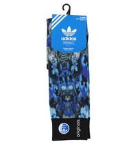 ADIDAS Originals Floral Crew Socks Adult One Size (6-12) Blue Gradient B... - $17.99
