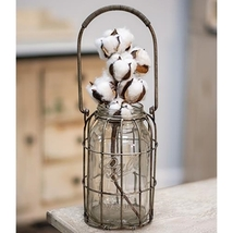 Glass Flower Jar - Great for displaying flowers   - $29.95