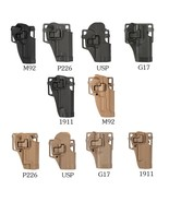 Tactical Pistol Holster Military Concealment Waist Belt Loop Paddle Hols... - $25.00