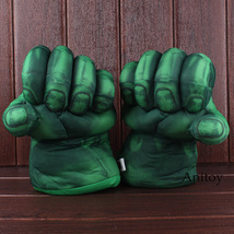 The Incredible Hulk Gloves Plush Toy Superhero Marvel Toys Hulk Cosplay Christma image 2