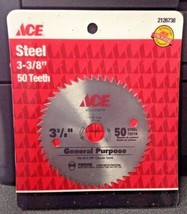 """Ace 2126738 3-3/8"""" x 50 Tooth Steel Saw Blade - $3.96"""