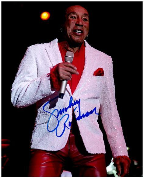 Primary image for SMOKEY ROBINSON Authentic Original  SIGNED AUTOGRAPHED 8X10 PHOTO w/COA 1520