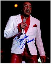 SMOKEY ROBINSON Authentic Original  SIGNED AUTOGRAPHED 8X10 PHOTO w/COA ... - $75.00