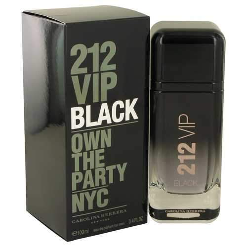Primary image for 212 VIP Black by Carolina Herrera Eau De Parfum Spray 1.7 oz (Men)