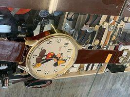 Mickey Mouse Walt Disney Original Vintage wall clock watch LORUS LFW618B image 4