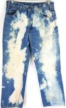 VTG Levis Mens 918 Orange Tab Dark Wash Denim Bleached Bootcut Leg Jeans... - $54.45