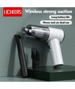 Licheers Mini Wireless Car Vacuum Cleaner Super Strong Suction 3500 Pa P... - £18.17 GBP