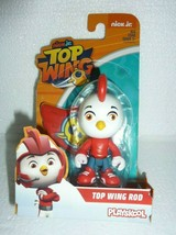 New in Box TOP WING Nick Jr Top Wing Rod Playskool Figure S-1 - $8.79