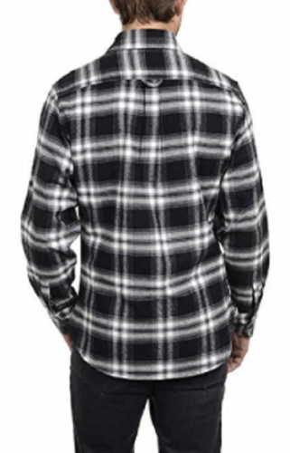 Jachs Men's 9oz Cotton Flannel Brawny Flannel Shirt Button Down, Size XXL