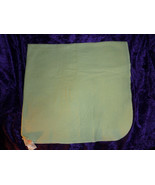 Just Born Green Stripe Cotton Flannel Baby Receiving Blanket Swaddle - $24.74