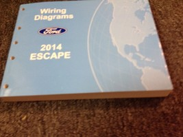 2014 Ford Escape Electrical Wiring Diagram Troubleshooting Manual EWD Fa... - $21.78