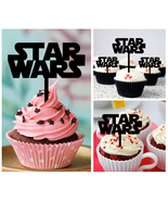 Mo2 Decorations cupcake toppers star wars Silhouette Package : 10 pcs - $10.00