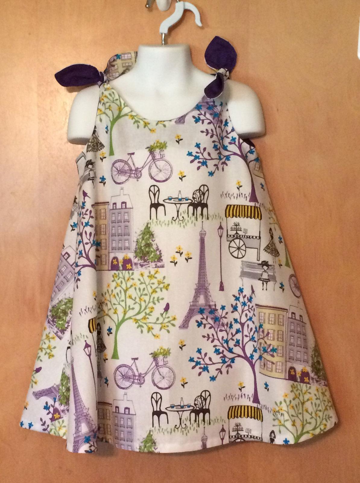 Girls Paris Twirly Sundress Boutique Dress