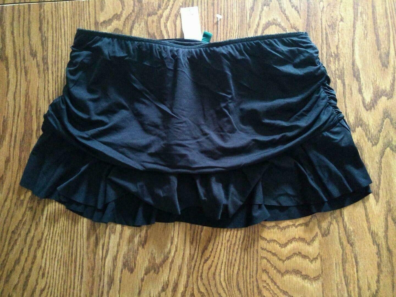 Ralph Lauren Black Swim Skirt Size 8