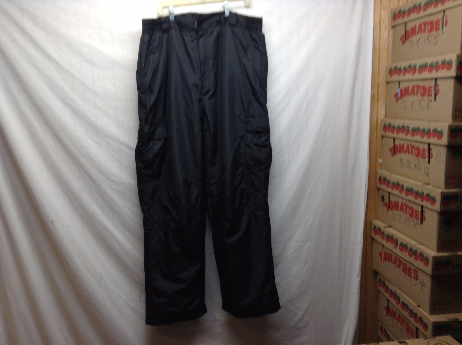 Faded Glory Black Ski Pants Sz 2XL 44/46