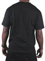 Dissizit! Mens Black Free Country Prison Bars American Cross Bones Flag T-Shirt image 3