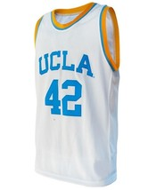 Kevin Love #42 College Basketball Custom Jersey Sewn White Any Size image 1