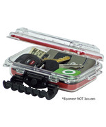 Plano 144900 Waterproof Polycarbonate Storage Box - 3449 Size - Red/Clear - $22.00