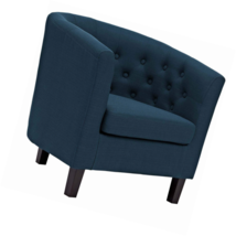 Modway EEI-2551-AZU Prospect Upholstered Fabric Contemporary Modern Acce... - $215.79