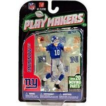 Eli Manning New York Giants Playmakers Figure NIB NFL 2012 McFarlane - $69.29