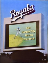 1991 - MLB - Kansas City Royals Yearbook - Rare - Out of Print - $19.99