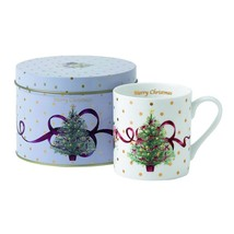 Royal Albert Old Country Roses Christmas Tree Mug with Tin NEW (s) - $13.09