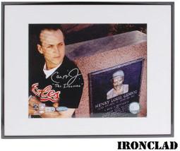 Cal Ripken, Jr. signed Baltimore Orioles 8x10 Photo Ironman Custom Frame... - $123.95
