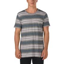 Vans BARRINGTON Boys Youth Short Sleeve T-Shirt Medium Frost Grey NEW 2017 - $34.50