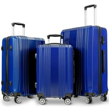 3PC Luggage Set Travel Suitcase with TSA Lock - new (cy) - $182.99