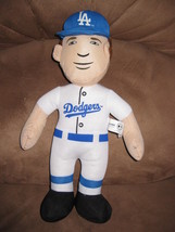 CLAYTON KERSHAW LOS ANGELES DODGERS PLUSH PLAYER Brand New 2015 MLB Lice... - $11.99