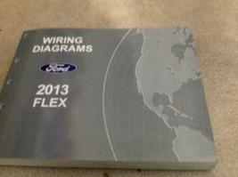 2013 Ford Flexible Eléctrico Diagrama Cableado En Tienda Manual Ewd 2013 - $29.63
